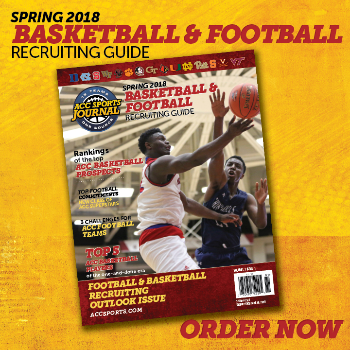 2018 Sprig ACC Basketball and Football Recruiting Magazine