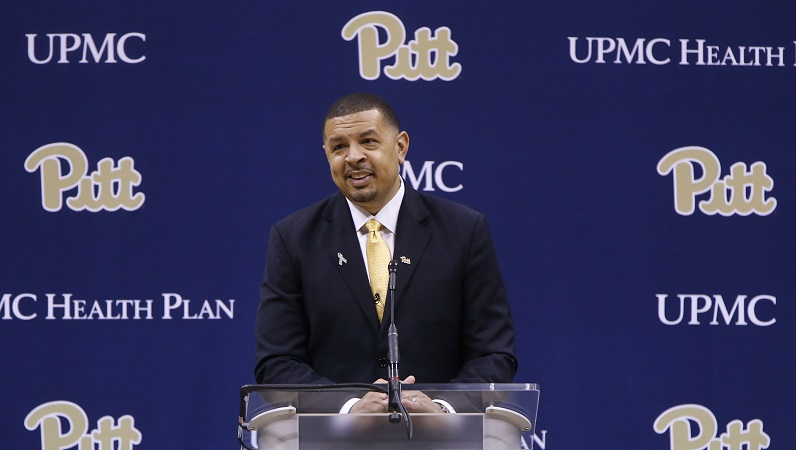 Jeff Capel addresses