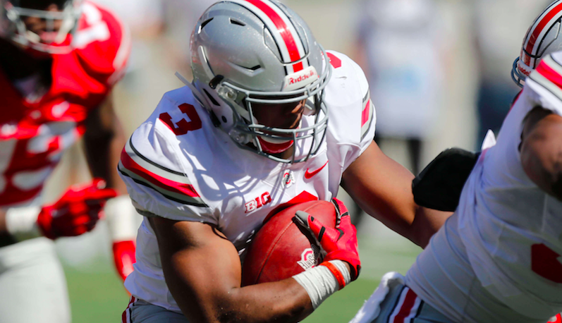 Ohio State running back from NC says he's transferring to UNC
