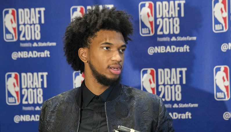 Marvin Bagley speaks