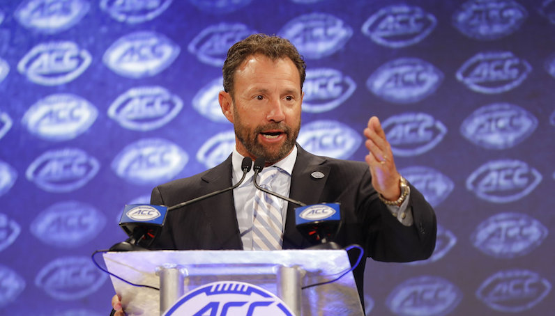 Larry Fedora speaks