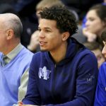 Cole Anthony sits