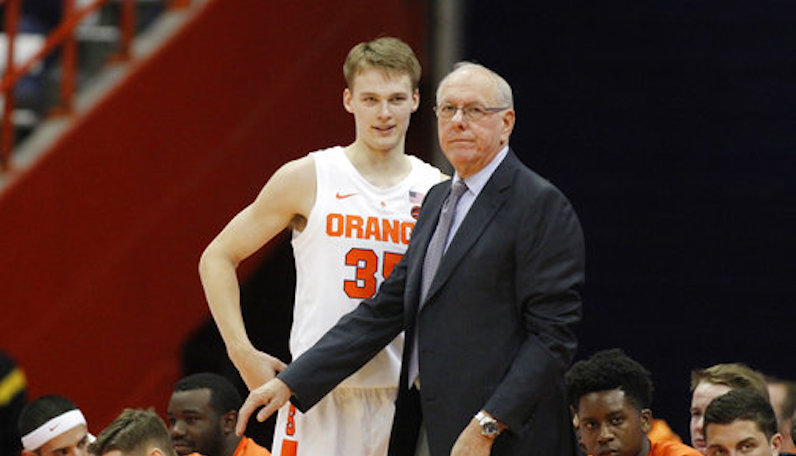 Jim Boeheim talks