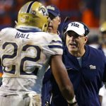 Pat Narduzzi coaches