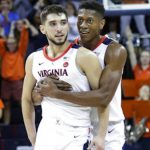 Virginia basketball celebrates