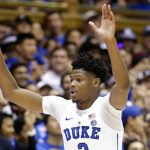 Cam Reddish reacts