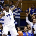 Zion Williamson reacts