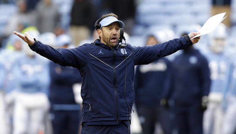 Larry Fedora Not Retained as UNC Head Football Coach