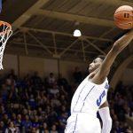 RJ Barrett dunks