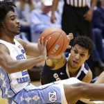 Coby White passes