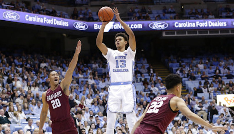 Cameron Johnson shoots