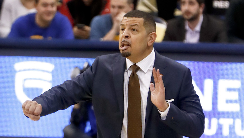 Jeff Capel coaches