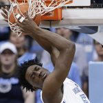 Nassir Little dunks