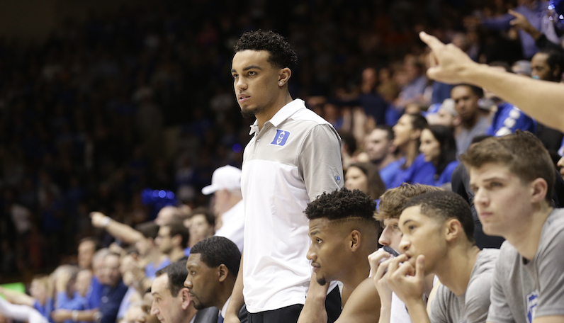 Duke Basketball: Tre Jones upgraded to probable on Saturday against GT
