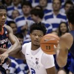 Cam Reddish defends