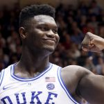 Zion Williamson flexes