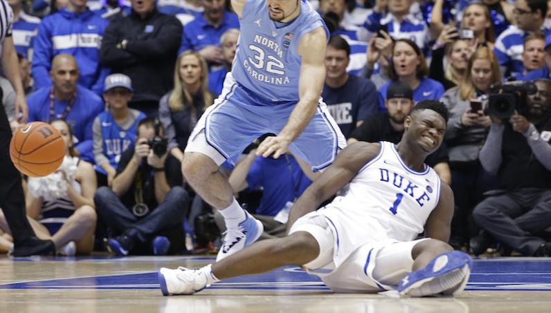 Zion Williamson injured