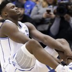 Zion Williamson knee