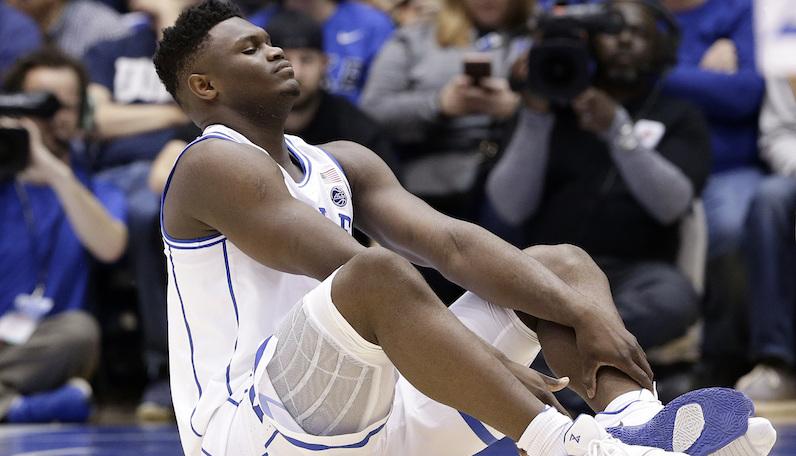 Zion Williamson knee