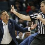Jeff Capel argues