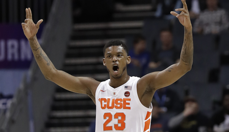 Cuse's Howard out indefinitely for policy violation