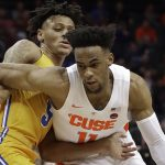 Au'Diese Toney defends