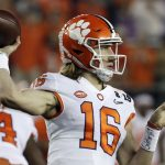 Trevor Lawrence throws