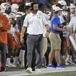 Manny Diaz watches