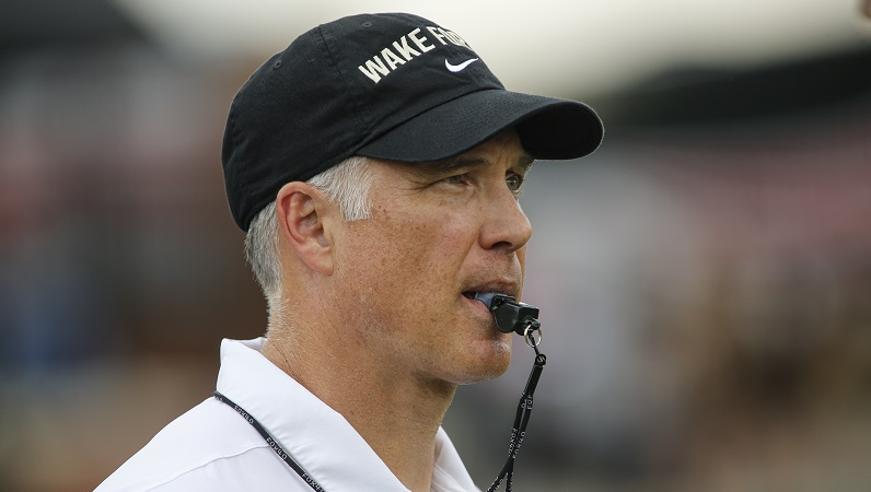 Dave Clawson whistle
