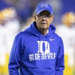 David Cutcliffe walks