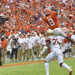 Justyn Ross catches