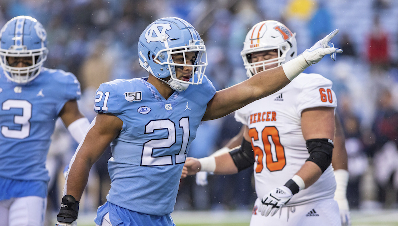 Chazz Surratt reacts