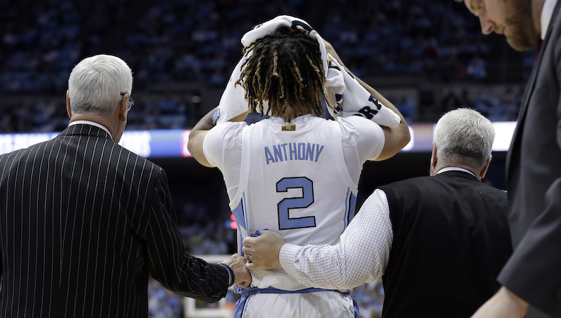 Cole Anthony injury