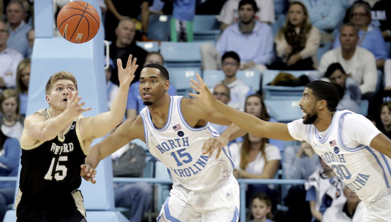 Garrison Brooks rebounds