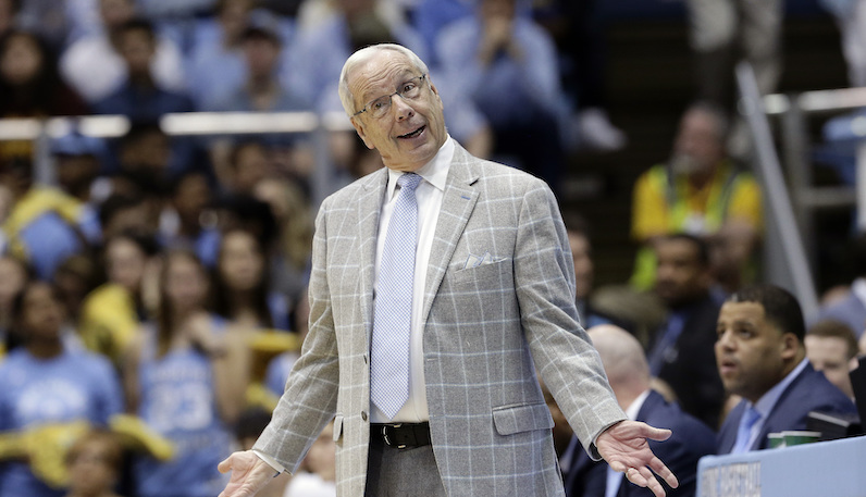 UNC's Roy Williams, WVU's Bob Huggins move up career wins list