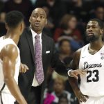 Danny Manning instructs