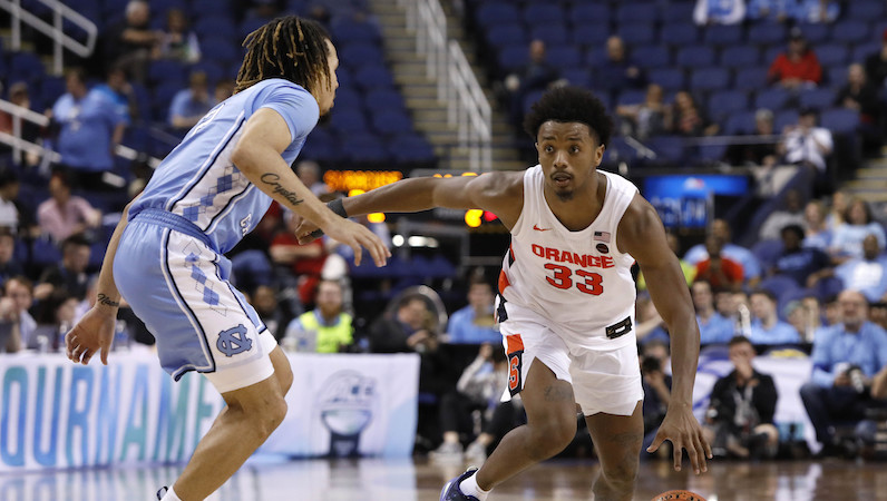 Elijah Hughes Declares For The 2020 Nba Draft Adds To Backcourt Concerns At Syracuse Accsports Com