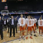 Brad Brownell stands