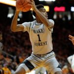 Isaiah Mucius rebounds
