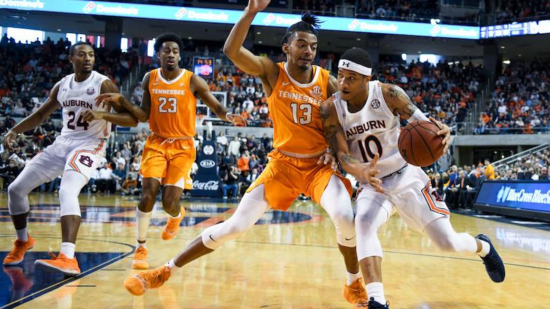 Jalen Johnson Tennessee Volunteers Basketball Jersey-Orange