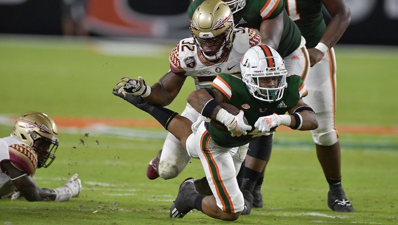 No. 10 Miami's December 5 game at Wake Forest postponed