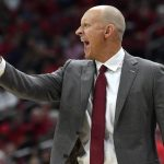 Chris Mack yells